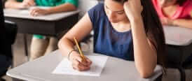 Les examens d'admission en première secondaire