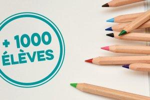 Forfait écoles (+1000 élèves)