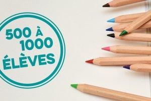 Forfait écoles (500 à 1000 élèves)